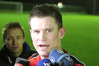 07.01.2014: Eintracht Frankfurt Training