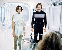 Logan's Run (1976) <br /> Jenny Agutter &amp; Michael York<br /> *Filmstill - Editorial Use Only*<br /> CAP/KFS<br /> Image supplied by Capital Pictures