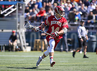 Washington, DC - March 31, 2018: Denver Pioneers Jeremy Bosher (14) is getting set to shoot the ball during game between Denver and Georgetown at  Cooper Field in Washington, DC.   (Photo by Elliott Brown/Media Images International)