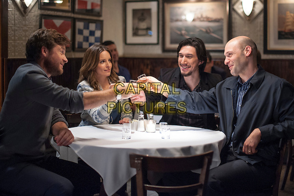 Jason Bateman, Tina Fey, Adam Driver, Corey Stoll<br /> in This Is Where I Leave You (2014) <br /> *Filmstill - Editorial Use Only*<br /> CAP/NFS<br /> Image supplied by Capital Pictures