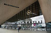 Nederland Rotterdam 2017. Centraal Station. Stationsplein.  Foto Berlinda van Dam / Hollandse Hoogte