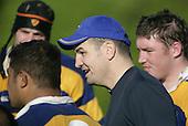 Patumahoe coach Craig Carter. Counties Manukau Premier Club Rugby, Patumahoe vs Manurewa played at Patumahoe on Saturday 6th May 2006. Patumahoe won 20 - 5.