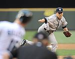Masahiro Tanaka (Yankees), JUNE 11, 2014 - MLB : Masahiro Tanaka of the New York Yankees pitches during the Major League Baseball game against the Seattle Mariners at Safeco Field in Seattle, Washington, United States. (Photo by AFLO)