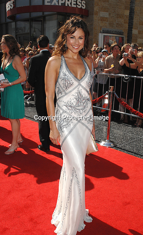 Marie Wilson..arriving at The 34th Annual Daytime Emmy Awards on ..June 15, 2007 at The Kodak Theatre in Hollywood, California. ..Robin Platzer, Twin Images......212-935-0770