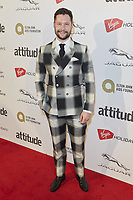 www.acepixs.com<br /> <br /> October 12 2017, London<br /> <br /> Calum Scott arriving at the Virgin Holidays Attitude Awards 2017 at the Roundhouse on October 12 2017 in London.<br /> <br /> By Line: Famous/ACE Pictures<br /> <br /> <br /> ACE Pictures Inc<br /> Tel: 6467670430<br /> Email: info@acepixs.com<br /> www.acepixs.com