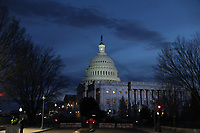 Exterior of the United States Capitol prior to US President Donald J. Trump arriving to deliver his second annual State of the Union Address to a joint session of the US Congress in the US Capitol in Washington, DC on Tuesday, February 5, 2019.<br /> CAP/MPI/RS<br /> &copy;RS/MPI/Capital Pictures