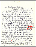 Lennon's letter rant to George Martin.