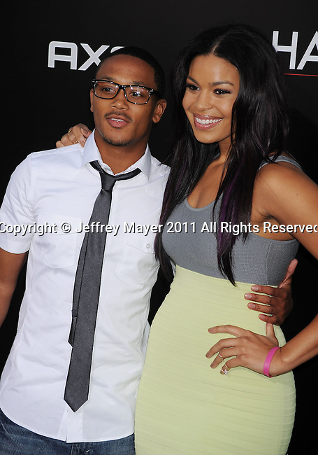 """`HOLLYWOOD, CA - MAY 19: Romeo and Jordin Sparks arrive at the Los Angeles premiere of """"The Hangover Part II"""" at Grauman's Chinese Theatre on May 19, 2011 in Hollywood, California."""