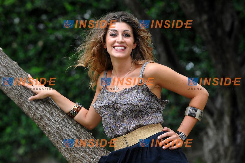 Laura CARUSINO.Roma 8/9/2010 Momo' Republic Restaurant.Presentazione Raidue DayTime 2010.Foto Andrea Staccioli / Insidefoto