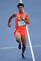 Yoshihide Kiryu (JPN), AUGUST 13, 2016 - Athletics : Men's 100m Round 1 at Olympic Stadium during the Rio 2016 Olympic Games in Rio de Janeiro, Brazil. <br /> (Photo by Koji Aoki/AFLO SPORT)