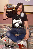 Dec 12, 1985: MOTORHEAD - Lemmy Kilminster in New York USA