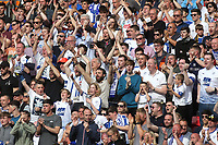 Tranmere fans urge their team on in extra-time during Newport County vs Tranmere Rovers, Sky Bet EFL League 2 Play-Off Final Football at Wembley Stadium on 25th May 2019
