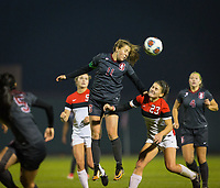 STANFORD, CA - November 9, 2018: Jordan DiBiasi at Laird Q. Cagan Stadium. The top seeded Stanford Cardinal defeated the Seattle Redhawks 3-0 in the opening round of the NCAA tournament.