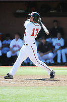 Rutgers University Scarlet Knights outfielder Steve Zavala (17) during game against the University of Connecticut Huskies at Bainton Field on May 3, 2013 in Piscataway, New Jersey. Connecticut defeated Rutgers 3-1.      . (Tomasso DeRosa/ Four Seam Images)