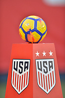 San Diego, CA - Sunday January 21, 2018: Game Ball prior to an international friendly between the women's national teams of the United States (USA) and Denmark (DEN) at SDCCU Stadium.