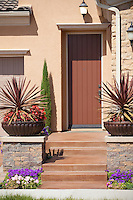 New Model Home Front Door Entryway
