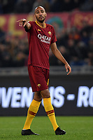 Steven Nzonzi of AS Roma reacts during the Serie A 2018/2019 football match between AS Roma and FC Internazionale at stadio Olimpico, Roma, December, 2, 2018 <br />  Foto Andrea Staccioli / Insidefoto