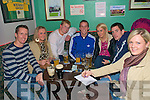 Moyvane/Clounmacon Ladies Quiz : Attending the quiz night held at The Kingdaom Bar in Listowel on Friday night last in aid of Moyvane/Clounmacon ladies GAA club were Keith Browne, Michelle Kennelly, Mark Enright, Martin Murphy, Jennifer Kennelly, John Heaphy & Mary Burke.