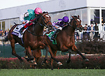 November 3, 2018: Enable #2, ridden by Frankie Dettori, wins the Longines Breeders' Cup Turf on Breeders' Cup World Championship Saturday at Churchill Downs on November 3, 2018 in Louisville, Kentucky. Casey Phillips/Eclipse Sportswire/CSM