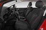 Front seat view of 2018 Opel Corsa Black-Edition 5 Door Hatchback Front Seat  car photos