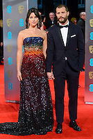 www.acepixs.com<br /> <br /> February 12 2017, London<br /> <br /> Jamie Dornan and Amelia Warner arriving at the 70th EE British Academy Film Awards (BAFTA) at the Royal Albert Hall on February 12, 2017 in London, England<br /> <br /> By Line: Famous/ACE Pictures<br /> <br /> <br /> ACE Pictures Inc<br /> Tel: 6467670430<br /> Email: info@acepixs.com<br /> www.acepixs.com