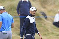 Ryan Fox (NZL) putts on the 1st green during Saturday's Round 3 of the 2018 Dubai Duty Free Irish Open, held at Ballyliffin Golf Club, Ireland. 7th July 2018.<br /> Picture: Eoin Clarke | Golffile<br /> <br /> <br /> All photos usage must carry mandatory copyright credit (&copy; Golffile | Eoin Clarke)