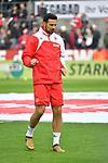 14.01.2018, RheinEnergieStadion, Koeln, GER, 1.FBL., 1. FC K&ouml;ln vs. Borussia M&ouml;nchengladbach<br /> <br /> im Bild / picture shows: <br /> nach langer Verletzung zur&uuml;ck im Kader Claudio Pizarro (FC K&ouml;ln #39),  <br /> <br /> <br /> Foto &copy; nordphoto / Meuter