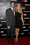 JON HAMM, JENNIFER WESTFELDT. Arrivals to the premiere of AMC's Mad Men Season 4 at Mann Chinese 6 Theatre. Hollywood, CA, USA. July 20, 2010.
