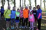 Garrett, Ellen, Emmet, Audrey, David, Mary, Emily, Catriona and Lee at Erin's Run, An Grianan, Termonfeckin.<br /> <br /> Photo: Jenny Matthews