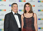 Former White House Chief of Staff (Reagan) Kenneth Duberstein and his wife, Jacqueline, arrive for the formal Artist's Dinner honoring the recipients of the 38th Annual Kennedy Center Honors hosted by United States Secretary of State John F. Kerry at the U.S. Department of State in Washington, D.C. on Saturday, December 5, 2015. The 2015 honorees are: singer-songwriter Carole King, filmmaker George Lucas, actress and singer Rita Moreno, conductor Seiji Ozawa, and actress and Broadway star Cicely Tyson.<br /> Credit: Ron Sachs / Pool via CNP
