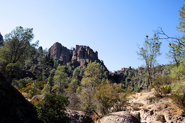 Pinnacles National Park in central California