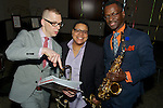 The New Brunswick Jazz Project marked its 5th anniversary on April 11, 2015, with a celebration in the Brunswick Ballroom in New Brunswick's Hyatt Regency Hotel. The gala featured the presentation of a Jazz Journalist Association 2015 Jazz Heroes Award to Virginia DeBerry who was joined by her NBJP cofounders Jimmy Lenihan and Michael Tublin. The evening included live jazz by an all-star quintet led by Mark Gross on sax, and with Tanya Darby on trumpet, David Gibson on trombone, Akiko Tsuruga on organ and Jerome Jennings on drums.