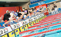 Picture by Allan McKenzie/SWpix.com - 13/12/2017 - Swimming - Swim England Winter Championships - Ponds Forge International Sport Centre - Sheffield, England - The womens open 400m individual medley sets off.