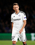 Qarabag's Jacub Rzezniczak in action during the champions league match at Stamford Bridge Stadium, London. Picture date 12th September 2017. Picture credit should read: David Klein/Sportimage