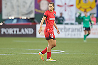 Portland, Oregon - Sunday September 11, 2016: Portland Thorns FC midfielder Tobin Heath (17) during a regular season National Women's Soccer League (NWSL) match at Providence Park.