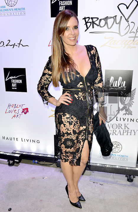 MIAMI, FL - DECEMBER 02: Karent Sierra attends Haute Living And Zacapa Rum Present Domingo Zapata at Lulu Laboratorium on Wednesday December 2, 2015 in Miami, Florida. (Photo by Johnny Louis/jlnphotography.com)