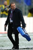 """L'allenatore della Nazionale Jacques Brunel.Roma 11/20/2012 Stadio """"Olimpico"""".Rugby 6 Nations Tournament - Torneo delle 6 Nazioni 2012.Italia Vs Inghilterra - Italy Vs England .Foto Insidefoto Andrea Staccioli"""