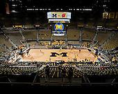 University of Michigan men's basketball team beat Wisconsin 59-41 at Crisler Arena in Ann Arbor, Mich., on January 8, 20112.