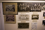 Vintage photographs next to the dressing rooms at Borough Briggs, home to Elgin City, on the day they played SPFL2 newcomers Edinburgh City. Elgin City were a former Highland League club who were elected to the Scottish League in 2000, whereas Edinburgh City became the first club to gain promotion to the League by winning the Lowland League title and subsequent play-off matches in 2015-16. This match, Edinburgh City's first away Scottish League match since 1949, ended in a 3-0 defeat, watched by a crowd of 610.
