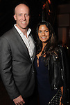 Nidhi Mohan-Evelt and Matt Evelt at day three of  Fashion Houston 5 at the Wortham Theater Thursday Nov. 20, 2014.(Dave Rossman photo)