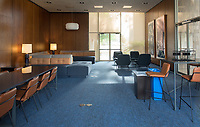 Dumke Commons Faculty Lounge in the Arthur G. Coons Administration Center (AGC) Photo taken Jan. 2, 2018.<br /> (Marc Campos/Occidental College)