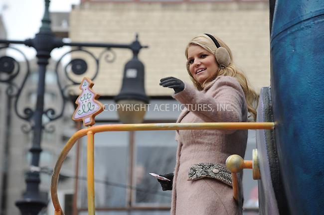 WWW.ACEPIXS.COM . . . . . ....November 25 2010, New York City....Singer Jessica Simpson at the 84th annual Macy's Thanksgiving Parade on November 25 2010 in New York City....Please byline: KRISTIN CALLAHAN - ACEPIXS.COM.. . . . . . ..Ace Pictures, Inc:  ..(212) 243-8787 or (646) 679 0430..e-mail: picturedesk@acepixs.com..web: http://www.acepixs.com