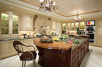 Large Custom Kitchen Interior Design