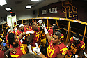 USC Trojans vs the Utah State Aggies Saturday, September 10, 2016 at the Los Angeles Memorial Coliseum.
