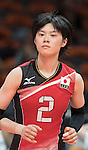 Haruka Miyashita (JPN),<br /> AUGUST 8, 2016 - Volleyball : <br /> Women's Preliminary Pool A <br /> between Japan 3-0 Cameroon <br /> at Maracanazinho <br /> during the Rio 2016 Olympic Games in Rio de Janeiro, Brazil.<br /> (Photo by Enrico Calderoni/AFLO SPORT)