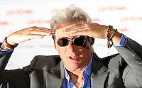 """L'attore statunitense Richard Gere posa durante un photocall per la presentazione del film """"Hachiko: a dog's story"""" al Festival Internazionale del Film di Roma, 16 ottobre 2009..U.S. actor Richard Gere poses during a photocall to present the movie """"Hachiko: a dog's story"""", at Rome Film Festival, in Rome, 16 october 2009..UPDATE IMAGES PRESS/Riccardo De Luca"""