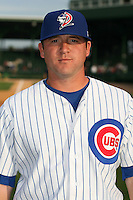 April 16, 2009:  Pitcher Jake Muyco of the Daytona Cubs, Florida State League Class-A affiliate of the Chicago Cubs, during a game at Jackie Robinson Stadium in Daytona Beach, FL.  Photo by:  Mike Janes/Four Seam Images