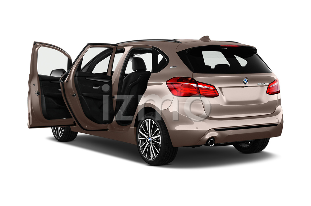 Car images close up view of a 2018 BMW 2 Series 225xe iperformance 5 Door Mini Van doors