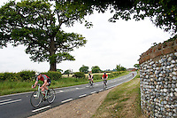 07 JUN 2009 - FRITTON,GBR - The Fritton Lake Standard Distance Triathlon (PHOTO (C) NIGEL FARROW)