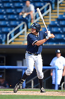 Connecticut Tigers outfielder Kasey Coffman #56 during a game against the Staten Island Yankees on July 7, 2013 at Richmond County Bank Ballpark in Staten Island, New York.  Staten Island defeated Connecticut 6-2.  (Mike Janes/Four Seam Images)